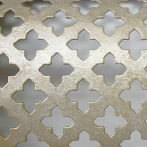 Perforated Tole Cross