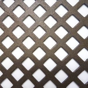 Perforated Tole Large Square