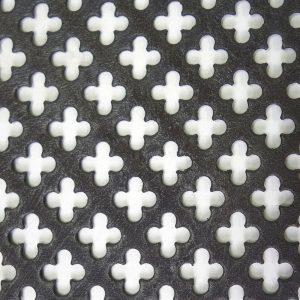 Perforated Tole Quatre Foil