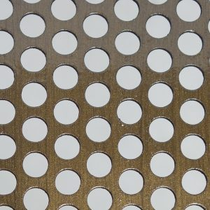 Perforated Tole Round