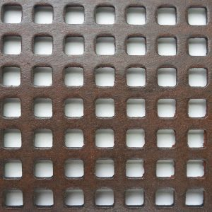 Perforated Tole Square
